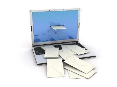 パソコンからEメール