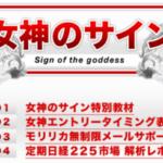 半自動日経225先物専用ツールの評判?  専用ツールの批評「女神のサイン」