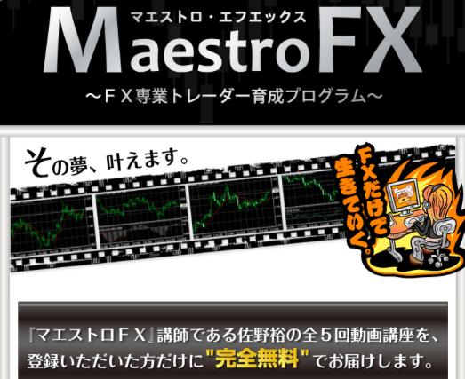 マエストロFX(育成プログラム)