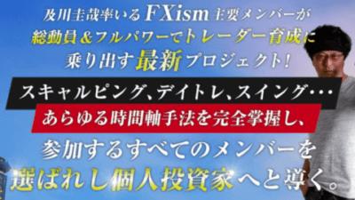 FXism-TRIBEのプロジェクト内容