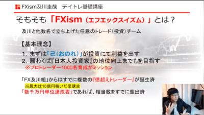 FXism-TRIBEのFXismとは